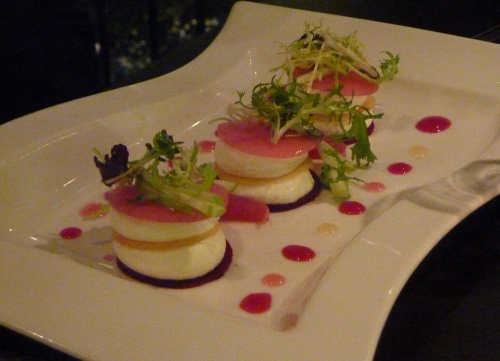 Angels with Bagpipes - Goats cheese starter