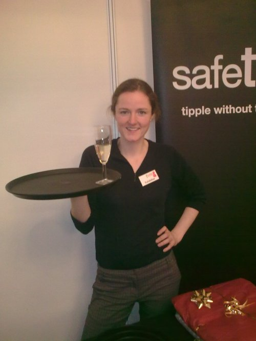 Alison Grieve of Safetray at Foodies Christmas in Edinburgh