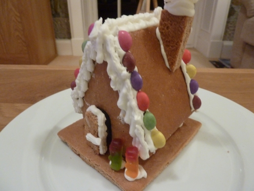 The Most Magnificent Gingerbread House