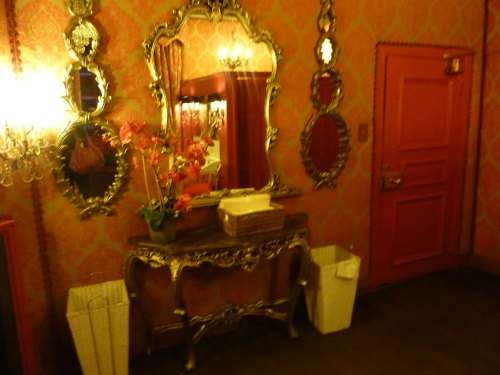 Ladies toilets at Prestonfield House Hotel