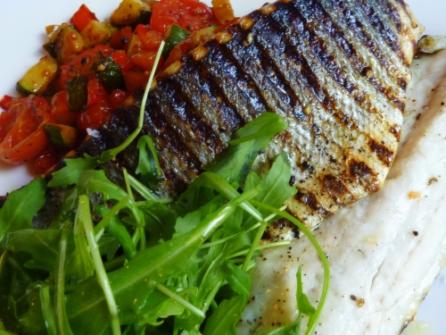 Sea bass at Zanzero