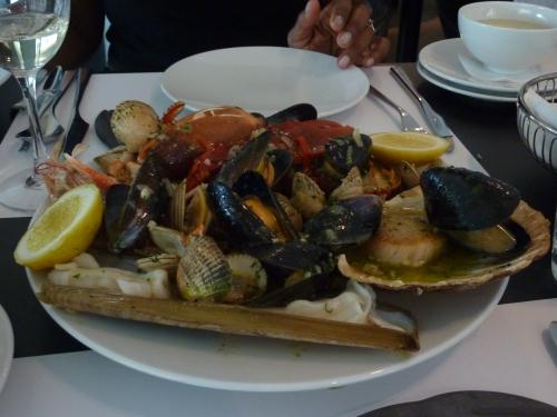 Seafood Platter at Ondine