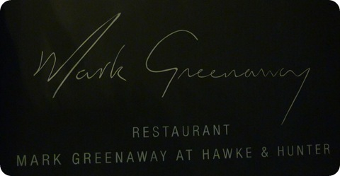 Mark Greenaway Restaurant